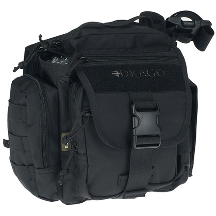 "Image for Officer Shoulder Pack Black 11""x11""x6.5"""