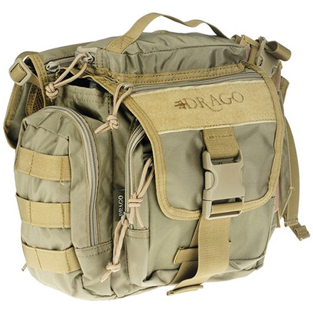 "Officer Shoulder Pack Tan 11""x11""x6.5"""