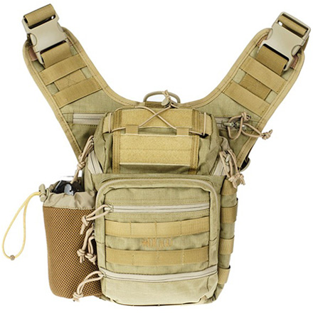 Ambidextrious Shoulder Pack Tan 11.5
