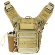 "Ambidextrious Shoulder Pack Tan 11.5""x10""x8"""