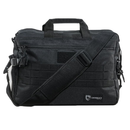 "Image for Tactical Laptop Briefcase  Bla ck  18.5""x5.5""x13"""
