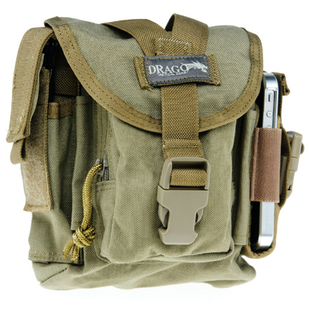 "Image for Belted Patrol Pack Tan 7""x9""x6"""