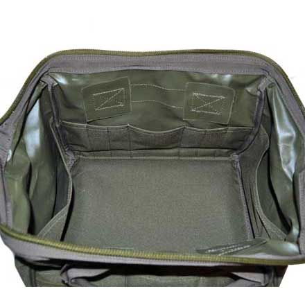"Ammo & Tool Bag Green 9""x12""x9.5"""
