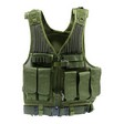 First Strike Tactical Vest Green M - XL  Adjustable With Tactical Belt