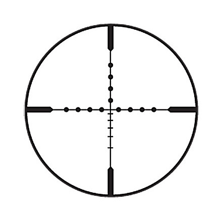 Fullfield II 6.5-20x50mm Adjustable Objective Ballistic Mildot Reticle Matte Finish