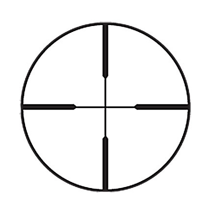 Handgun / Pistol Scope 2x20mm Plex Reticle Matte Finish