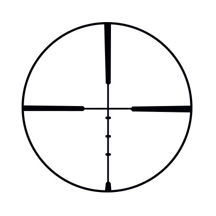 Scout 2x-7x-32mm Ballistic Plex Reticle Matte Finish