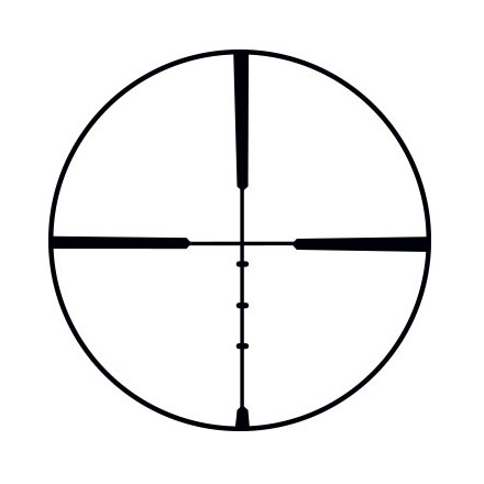 Handgun / Pistol Scope 2-7x32mm Posi-Lock Ballistic Plex Reticle Matte Finish