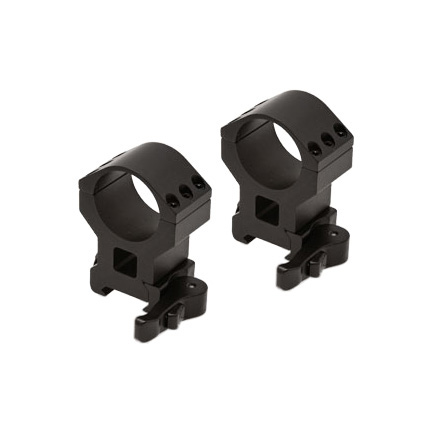 Extreme Tactical Quick Detach Rings x High 30mm Matte