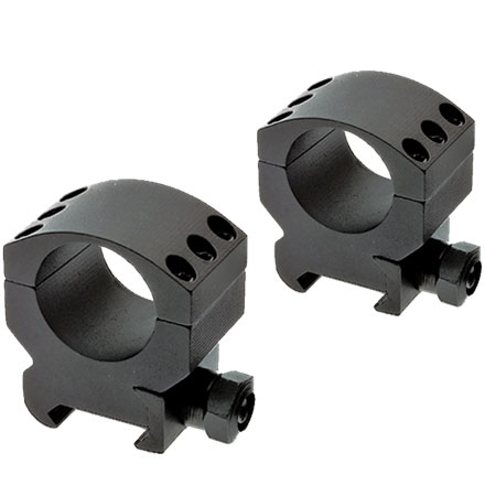 Extreme Tactical Rings Med 34mm 6X6 Matte