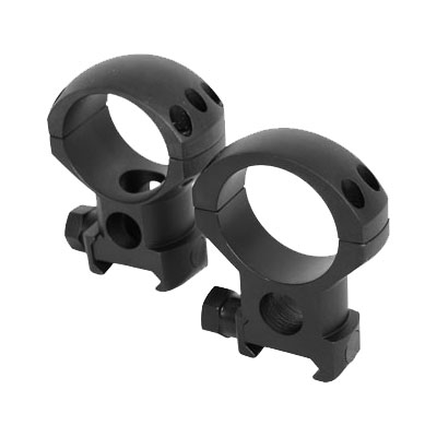 Extreme Tactical Steel Rings Extra High 34mm 6x4 Matte
