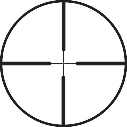 VX-R 1.25-4x20mm Fire Dot Reticle Matte Finish