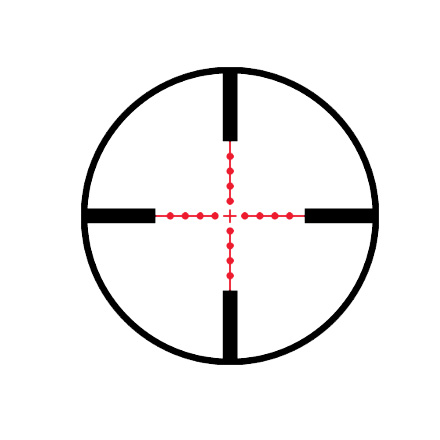 Mark 8 1.1-8x24mm CQBSS M5B1 Front Focal Illuminated Mildot Reticle Matte Finish