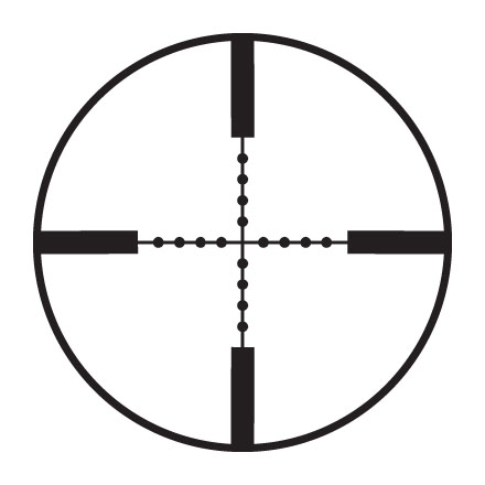 Mark AR Mod 1 6-18x40mm Adj. Obj P5 Mil Dot Reticle Matte Finish