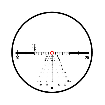 Mark 8 1.1-8x24mm CQBSS M5B2 Front Focal Illuminated CMR-W Reticle Matte Finish
