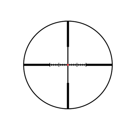 VX-R 4-12x40mm CDS Fire Dot Wind-Plex Reticle Matte Finish