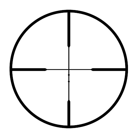 Rifleman 4-12x40mm RBR Reticle Matte Finish