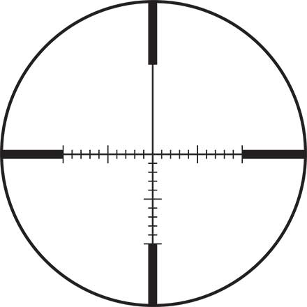 VX-Freedom Scope AR 4-12x40 30mm CDS Side Focus Tri-MOA Reticle Matte Finish