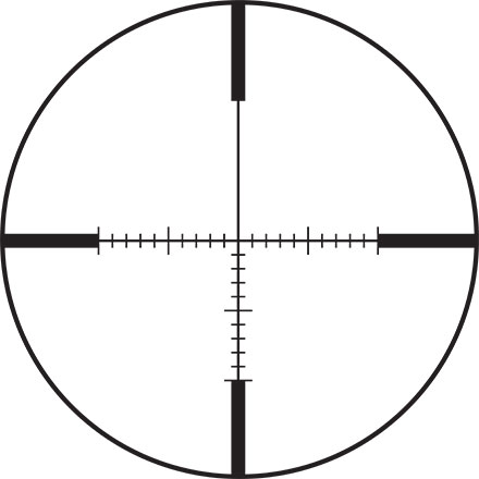VX-Freedom Scope AR 6-18x40 30mm CDS Side Focus Tri-MOA Reticle Matte Finish
