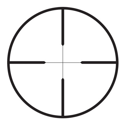Rifleman 4-12x40mm Wide Duplex Reticle Matte Finish