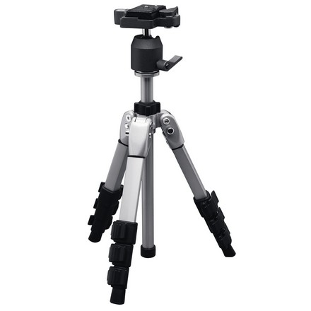 "Image for Compact Tripod 15"" to 31.5"" 3 Section Adjustable Legs"