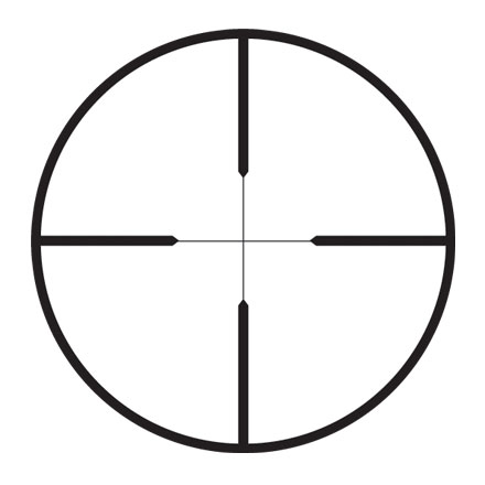 FX-3 6x42mm Fixed Power Wide Duplex Reticle Matte Finish