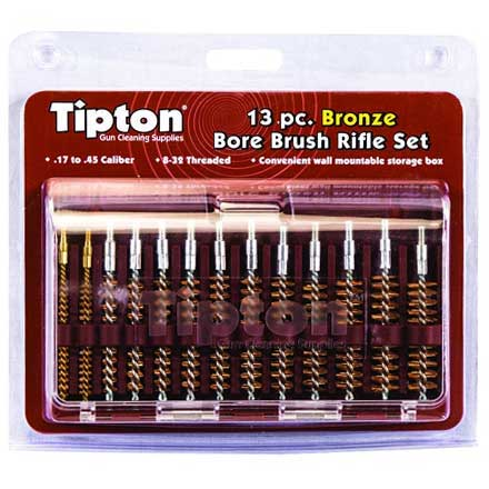 13 Piece Phosphor Bronze Brush Set
