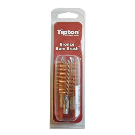 "12 Gauge Bronze Bristle Bore Brush 3 Pack 5-16/27"" Thread"