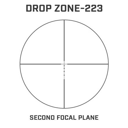 ".223 3-12x40mm AR Optics DZ223 1"" Black Finish"