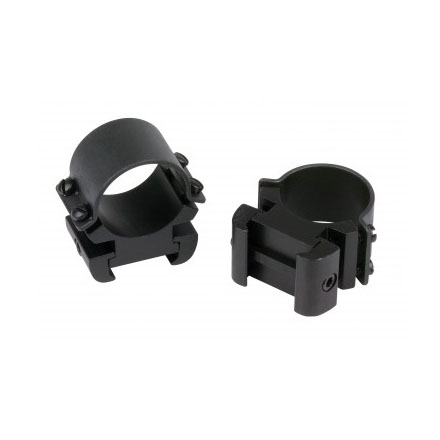"1"" Sure-Grip Windage Adjustable Rings High Weaver Style Matte Finish"