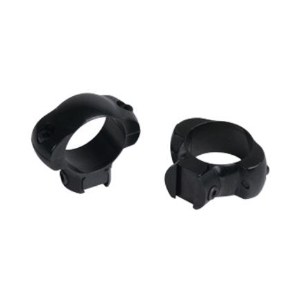 "Image for 1"" Grand Slam Windage  Adjustable Rimfire Rings 3/8"" Grooved High Matte Finish"