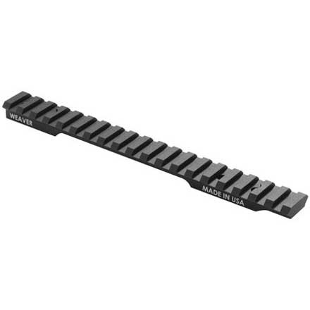 Savage 110-112/114/116 Extended Multi Slot Base Long Action 20 MOA (6-48) Matte Finish, Clam