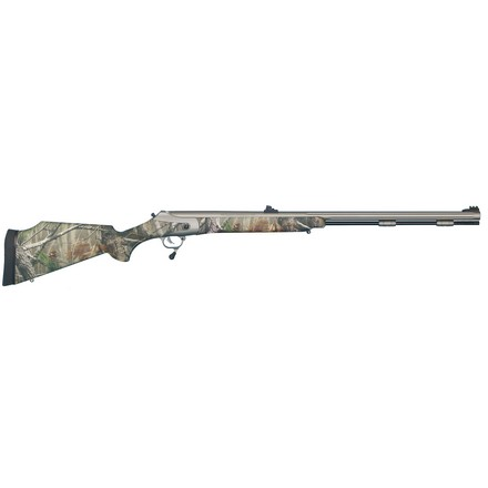"Image for .50 Caliber Triumph In-Line 28"" With Weather Shield Camo Stock"