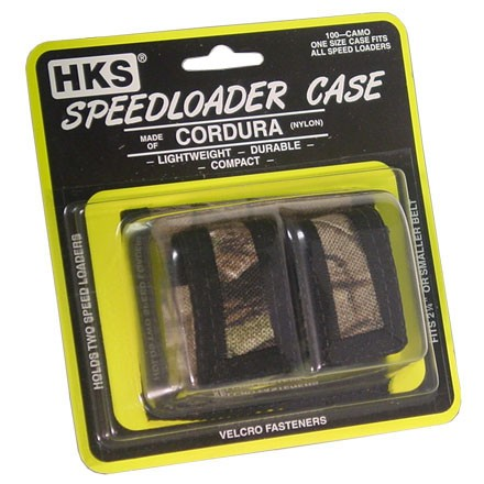 Image for Camouflage Cordura Double Side By Side Speedloader Case (One Size Fits All)