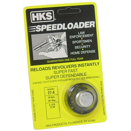 "Image for ""A"" Series Speedloader .38/.357 (S&W 27, 28 & Ruger .357 Redhawk)"