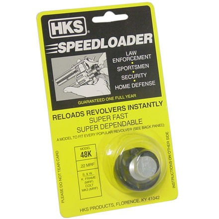 """M"" Series Speed Loader S&W 48 (K-Frame Only) / Colt MK3 22 Magnum"