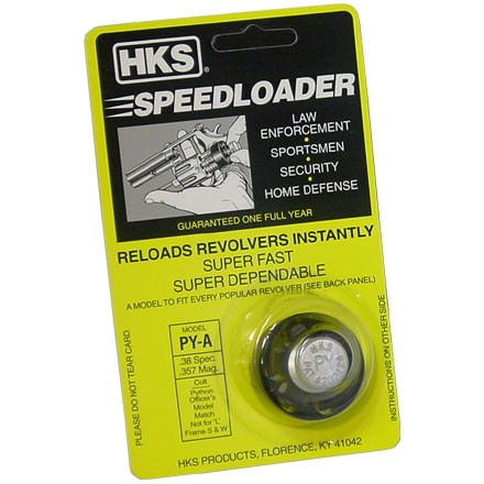 """A"" Series Speed Loader 38/357 for Colt Python"