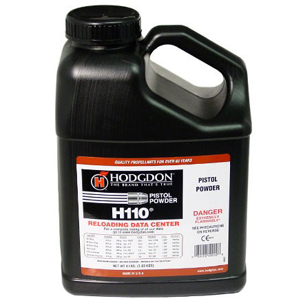 Image for Hodgdon H110 Smokeless Powder 8 Lbs
