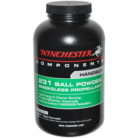 Winchester 231 Smokeless Powder 1 Lb