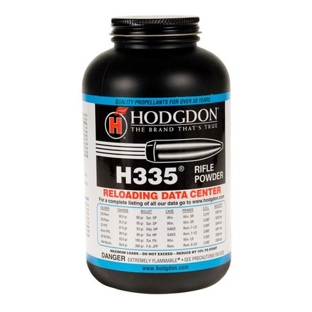 Hodgdon H335 Smokeless Powder 1 Lb