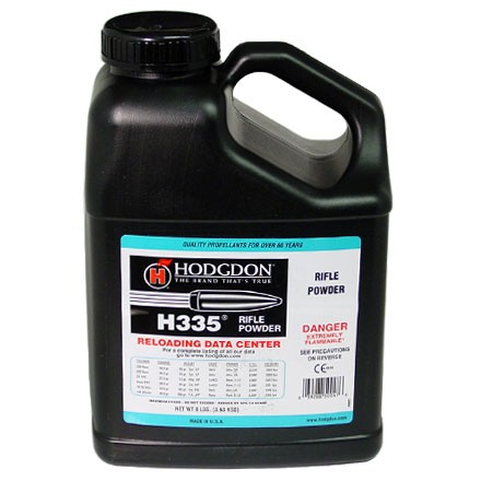 Image for Hodgdon H335 Smokeless Powder 8 Lbs