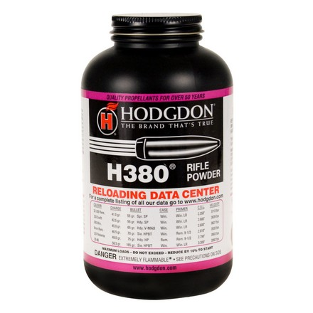 Hodgdon H380 Smokeless Powder 1 Lb