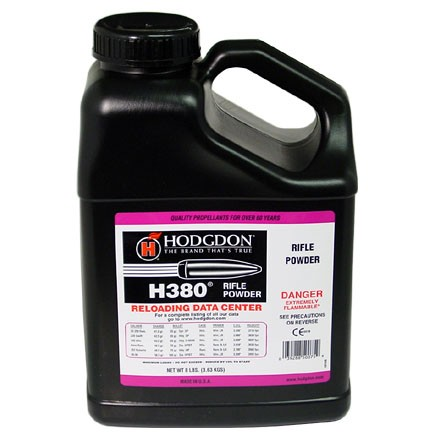 Image for Hodgdon H380 Smokeless Powder 8 Lbs