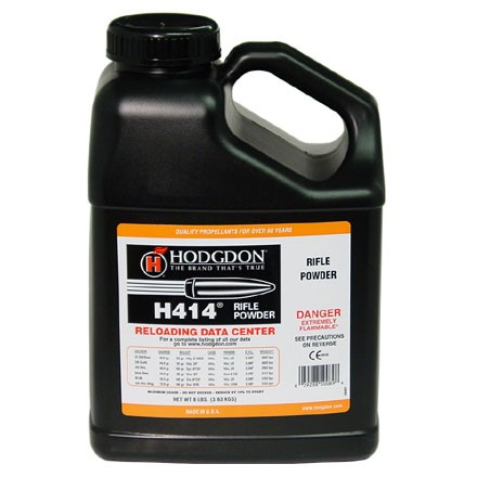 Image for Hodgdon H414 Smokeless Powder 8 Lbs