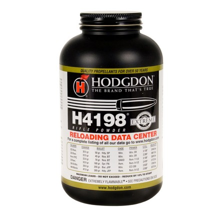 Image for Hodgdon H4198 Smokeless Powder 1 Lb