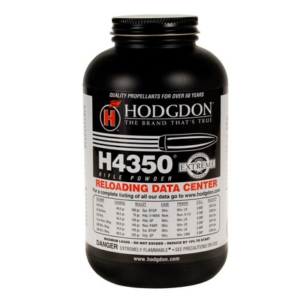 Image for Hodgdon H4350 Smokeless Powder 1 Lb