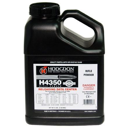 Image for Hodgdon H4350 Smokeless Powder 8 Lbs