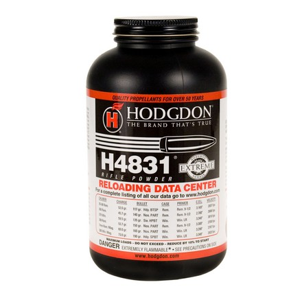Image for Hodgdon H4831 Smokeless Powder 1 Lb
