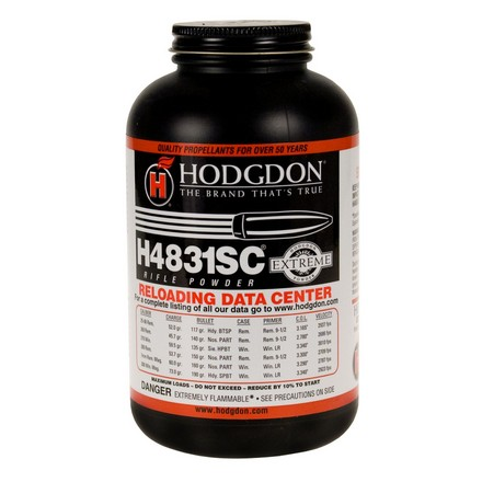 Hodgdon H4831 Shortcut Smokeless Powder 1 Lb