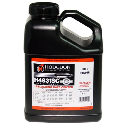Hodgdon H4831 Shortcut Smokeless Powder 8 Lbs